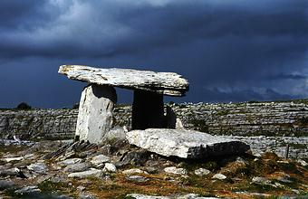 Stones of Ireland Poulnabrone, the Burren, near Dysert O'Dea